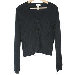 Carducci Cardigan Wool Blend Long Sleeve Button Up